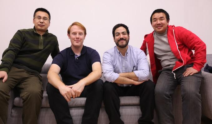 L-to-R: Song QiLong - Garrett Gunderson - David Eguiluz - Chen Biao