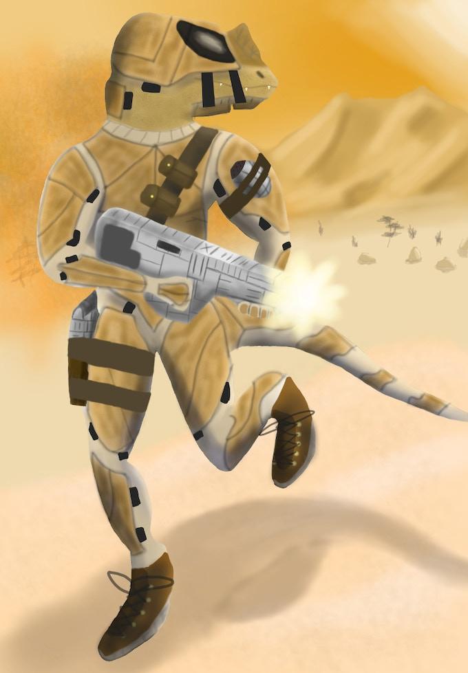 Heragul Soldier