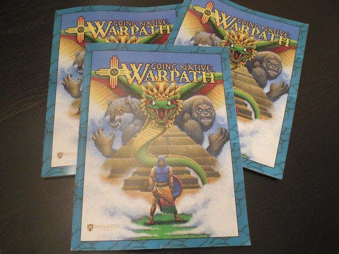 Going Native: Warpath Rule Book - $30