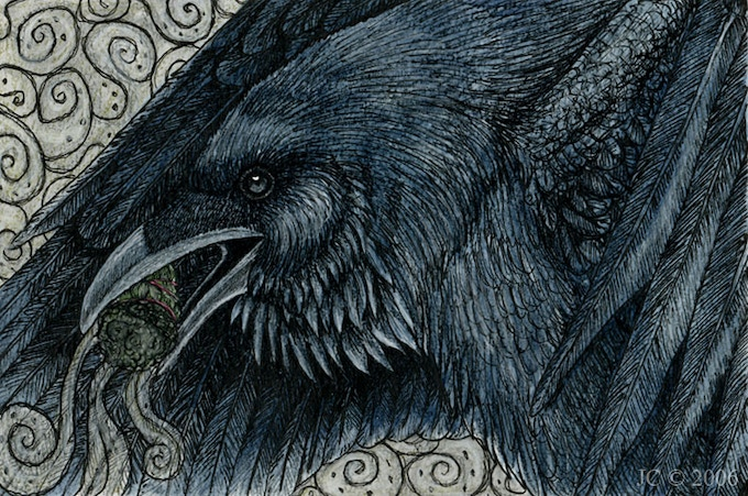 'Raven's Blessing' by Jennifer Campbell-Smith