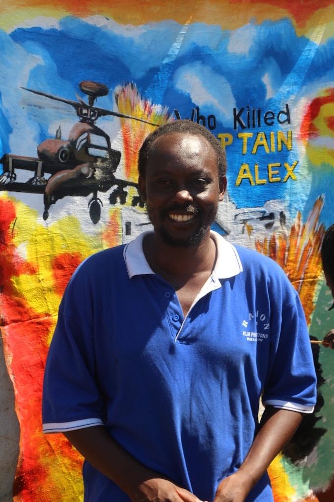 Ugandan filmmaker Nabwana IGG