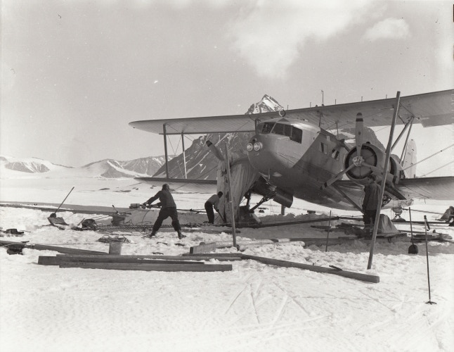 Curtiss-Wright Condor, United States Antarctic Service Expedition, 1940 (National Archives)