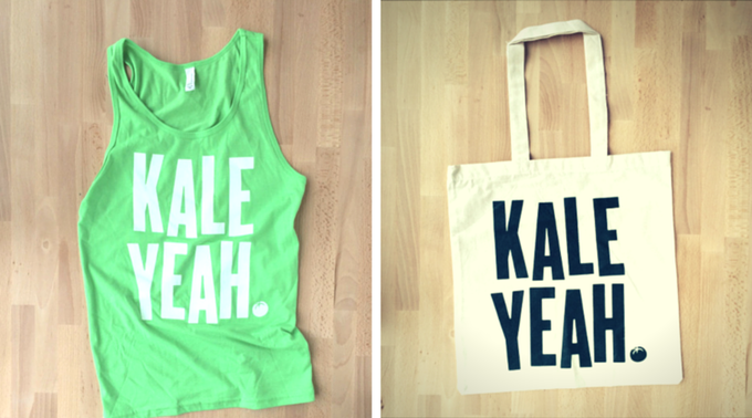 The Kale Yeah Prizes!