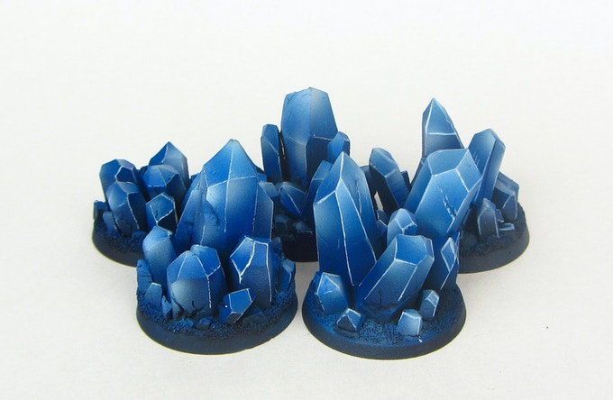 Crystal tokens
