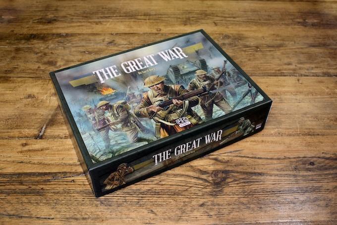 The Great War, box design