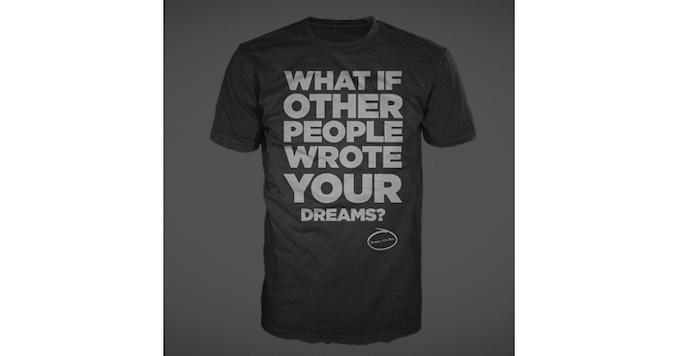 """Kickstart deep conversations with this """"concept"""" t-shirt!"""