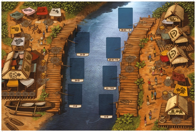 Floating Market Game Board