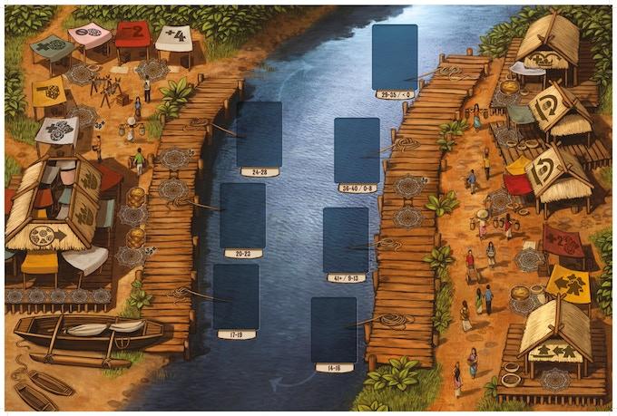 Floating Market Game Board