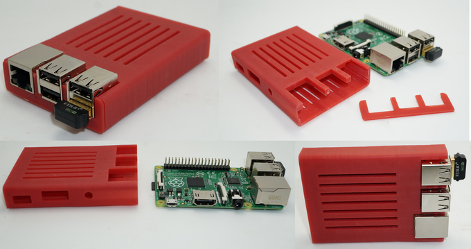 Sleeve Case for Raspberry Pi B+ designed by walter