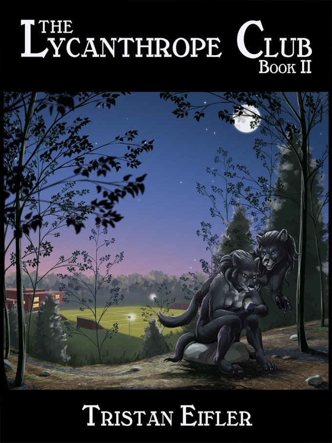 The Lycanthrope Club: Book II Cover