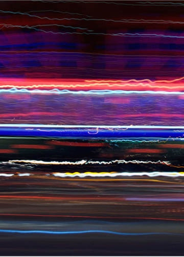 """Sunset Strip Motion Studies #531 by R. Nelson Parrish, 8x10"""""""
