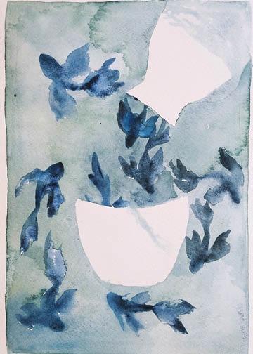 "Sake Series Dream Koi by Kiana Mosley, 8x10"""