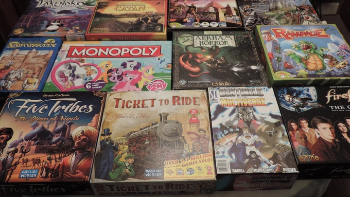 This is a modicum of the games in our library.