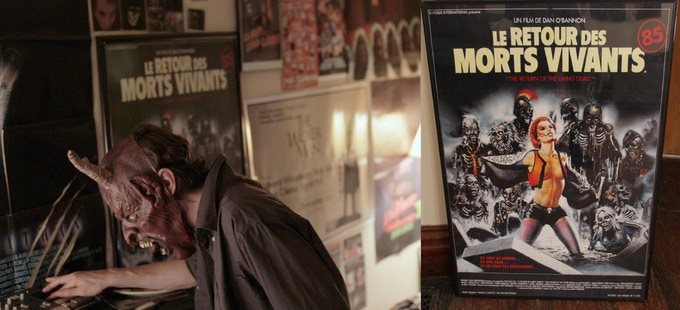Le Retour des Morts Vivants Poster - $150