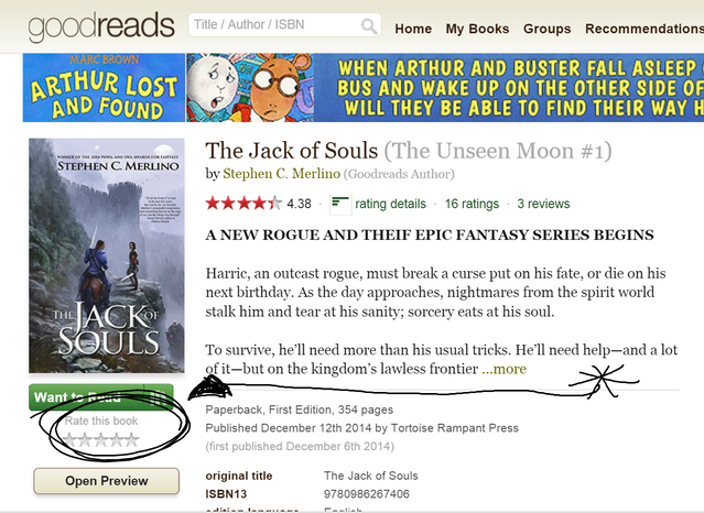 The Jack of Souls: An Epic Fantasy Novel & Trilogy by