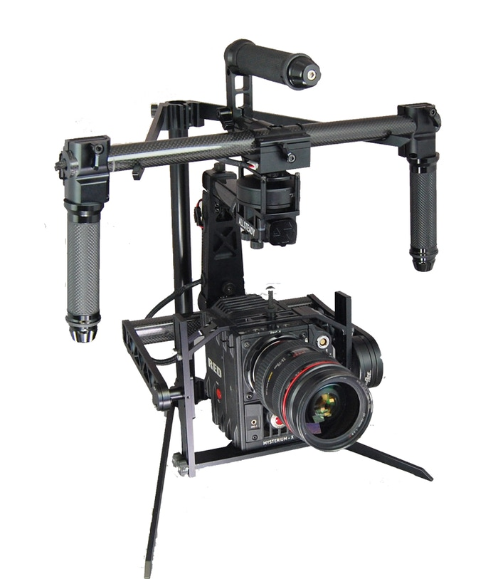 Allsteady 6Pro with a RED Epic