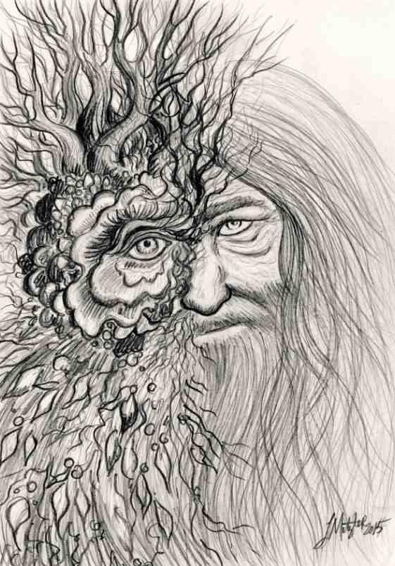 TREEMAN - concept drawing by Lauren Metzler