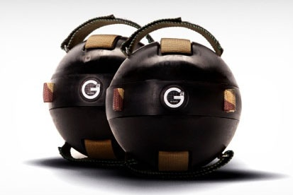 Two first edition Gravity Balls
