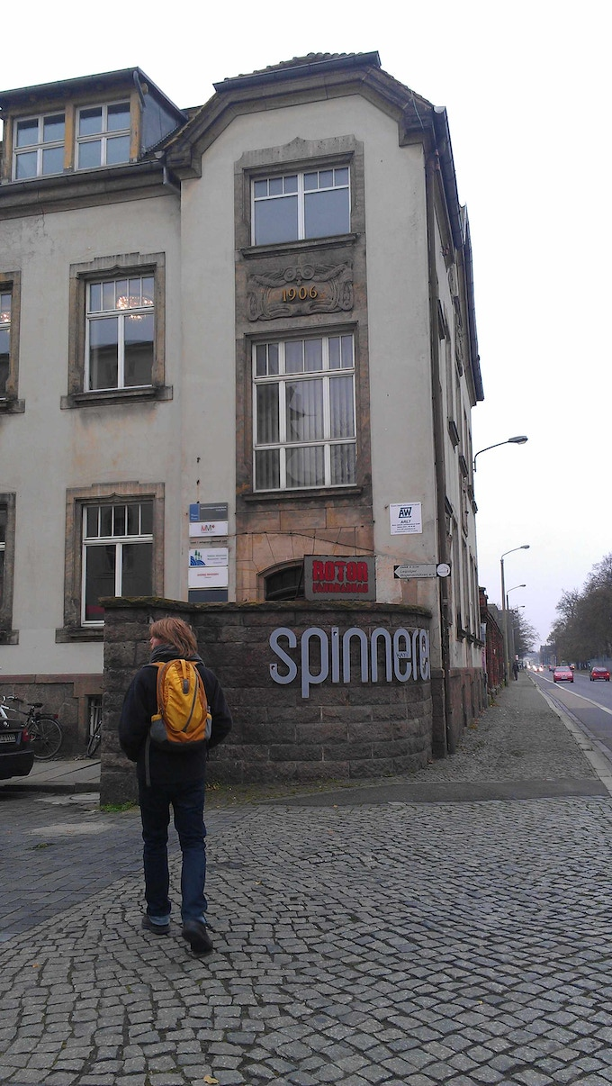 A visit to the Spinnerei in November 2014