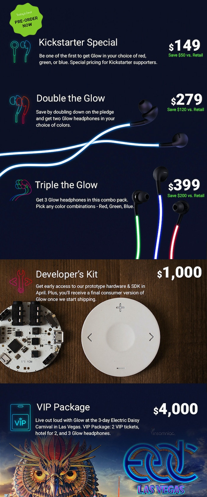 Glow The First Smart Headphones With Laser Light By Llc How To Wire A Broken Headphone Jack Wiring Earbud Color Music Has Always Been Powerful Form Of Expression And Puts You Center Stage These Earbuds Pack Specially Designed Wires That Diffuse From