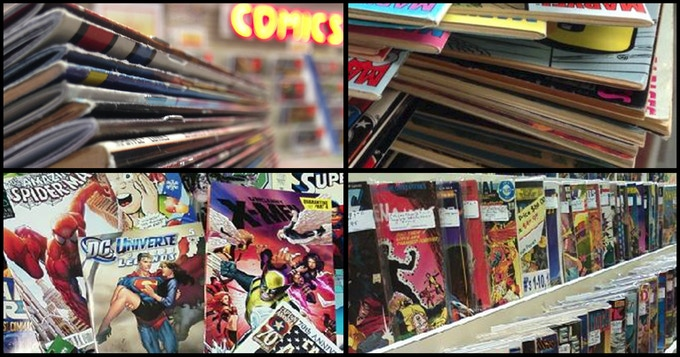 Curated Groups of Comics from our Warehouse of One Million Comics