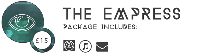 ▲ THE EMPRESS £15: Get your key for the game, in addition to a digital copy of the Three Monkeys OST