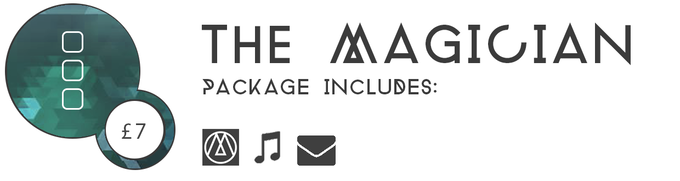 ▲ THE MAGICIAN £7: 200 early backers will get a Steam (PC) key for Three Monkeys - Part 1 on release day for just £7. You'll also be sent the Three Monkeys main theme. Act early, get money off the game!