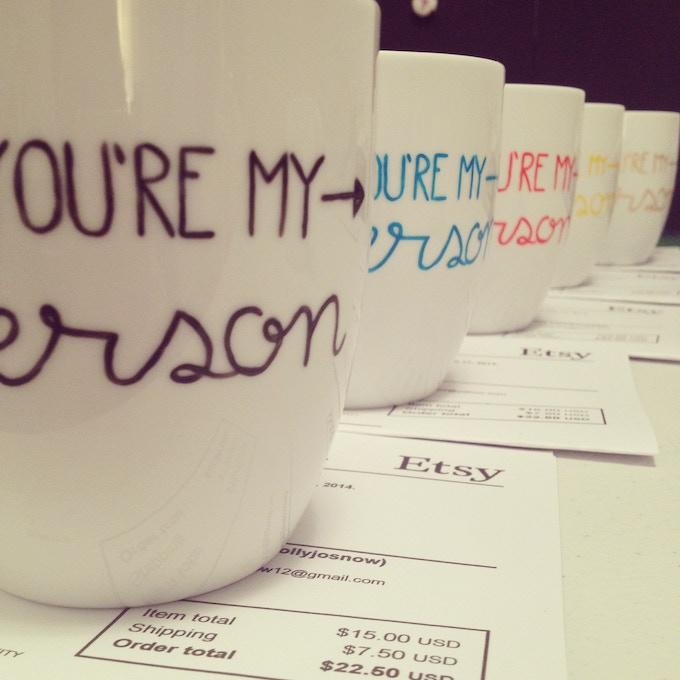 most popular style mug in 2014