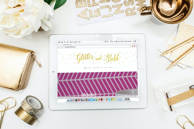 the recently improved www.glitterandbold.com