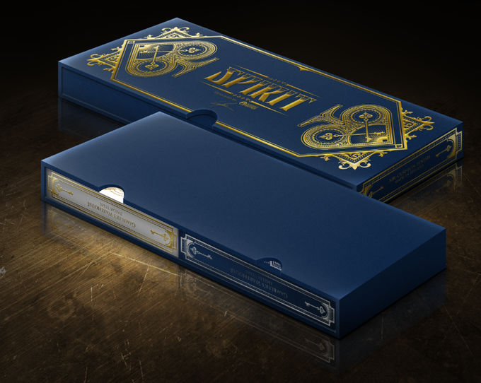 Two Deck Sleeve Box with Silk Finish