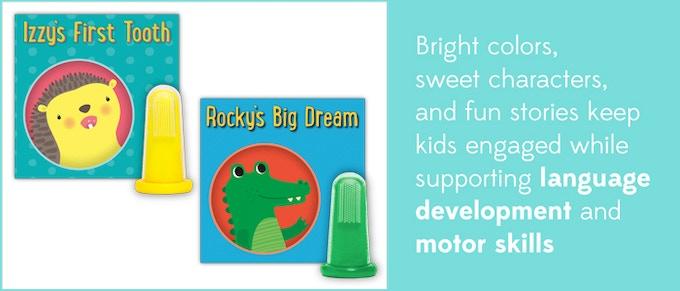Soft Chomp Rockys Big Dream, Green