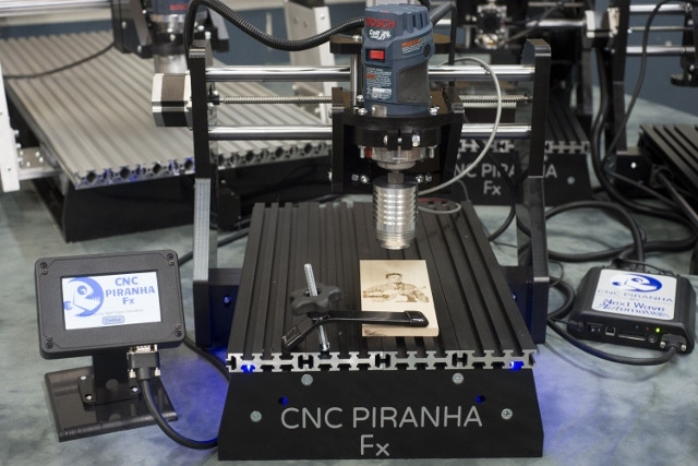 Piranha Fx with the included Laser Engraver Module.