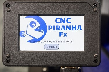 Piranha Fx is easy to use with a simple and intuitive LCD touch screen that includes easy to understand graphics.