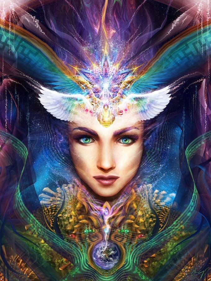 Feminine Medicine by Olivia Curry www.dreamnectar.com