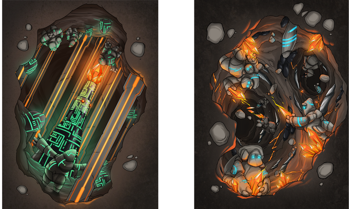 Some of the Amazing art to be expected in the rulebook!