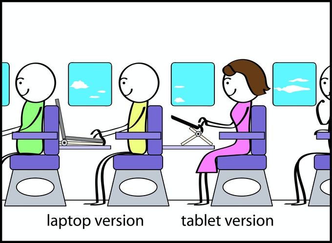 Stay comfortable on an airplane and stop cricking your neck.