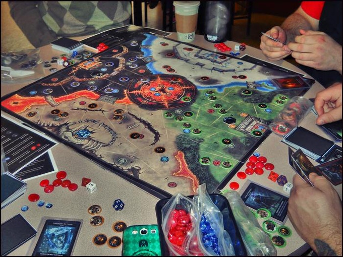 Dark Lord: the Board Game is a 2-4 player, card-based tabletop.