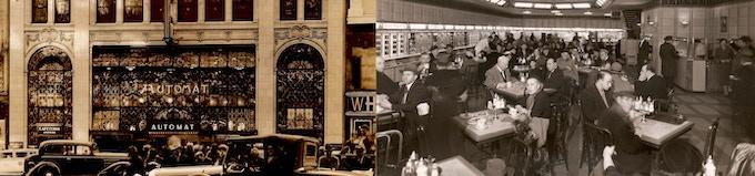 Images Courtesy of the John W. Romas Collection of Horn & Hardart Memorabilia