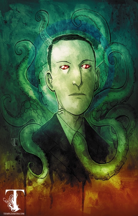 H.P. Lovecraft looks good for being 125!!