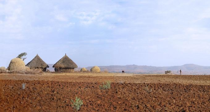 Ethiopian Highlands visited in 2012
