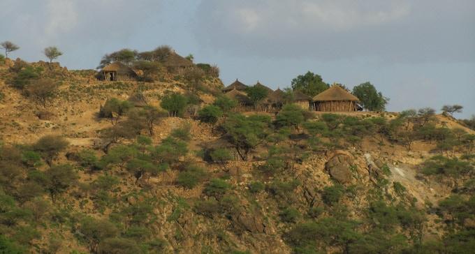Ethiopia - Rural areas visited in 2012