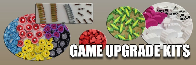 Check out the game upgrade sets already available on our website!