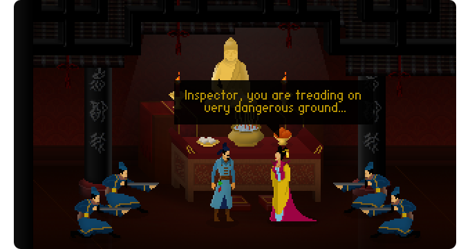 Empress Wu's many enemies are plotting against her; will you stand by her side?