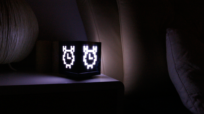 It also can be used as a beautiful and smart alarm or a night lamp