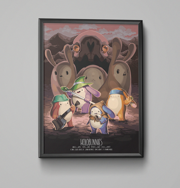 This is what the poster looks like when framed ( ͡° ͜ʖ ͡°)