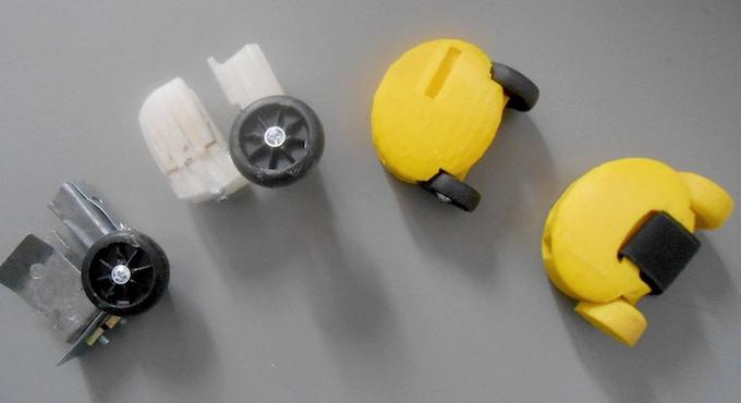 prototypes #1, #2, #3, #4