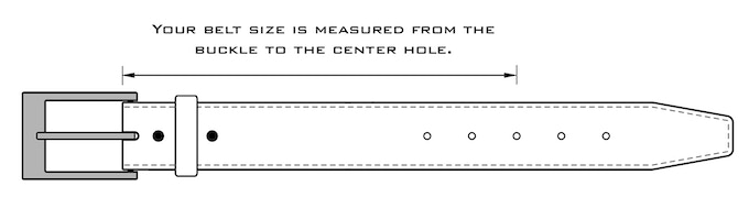 You will be asked your size and buckle preference in a survey after the completion of the campaign