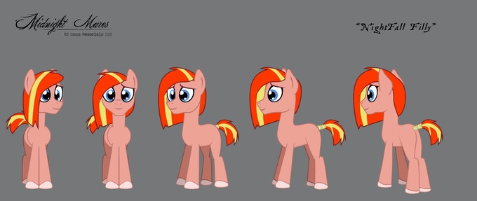 Every Mare was once a filly