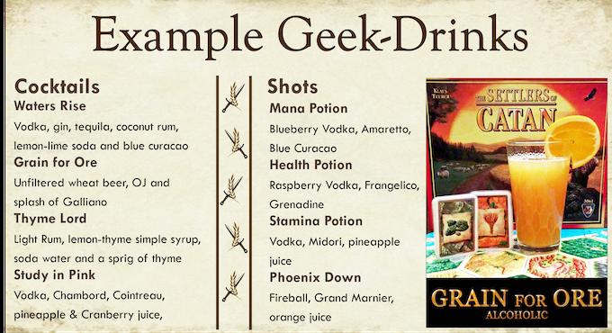 Dungeons & Drafts: Geek Bar by Melissa Garza — Kickstarter