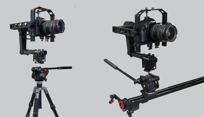 AllSteady-6Pro DSLR/Red 3-Axis Gimbal Stabilizer by Turbo
